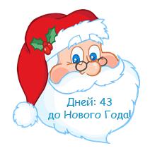 Василий Сенченко - Дед Мороз информирует, сколько дней осталось до Нового года